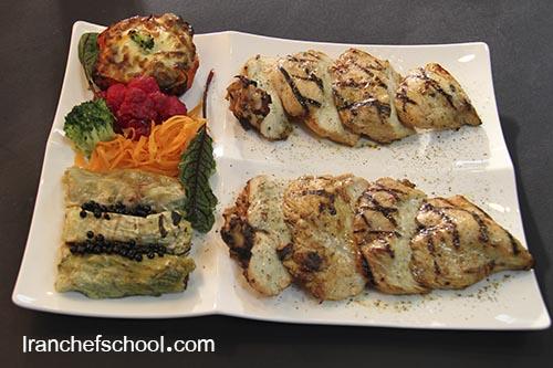 دوره تخصصی استیک و برگر در مدرسه آشپزی ایران