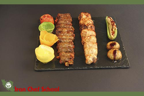 دوره تخصصی پخت انواع کباب در مدرسه آشپزی ایران